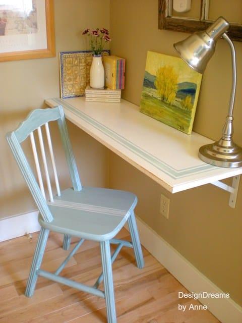 Grain Sack Shelf Desk