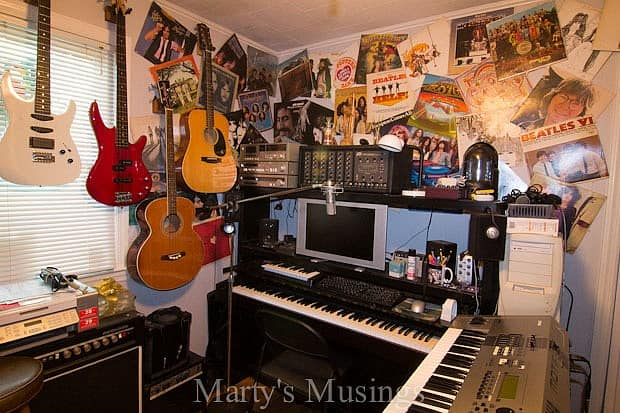 Home Tour from Marty's Musings; Studio-1