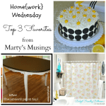 Home{work} Wednesday Link Party #9 Top 3 Favorites