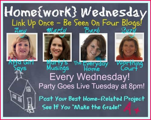 Home{work} Wednesday Link Party #9