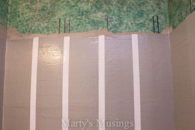 How to Tile Your Shower from Marty's Musings-24