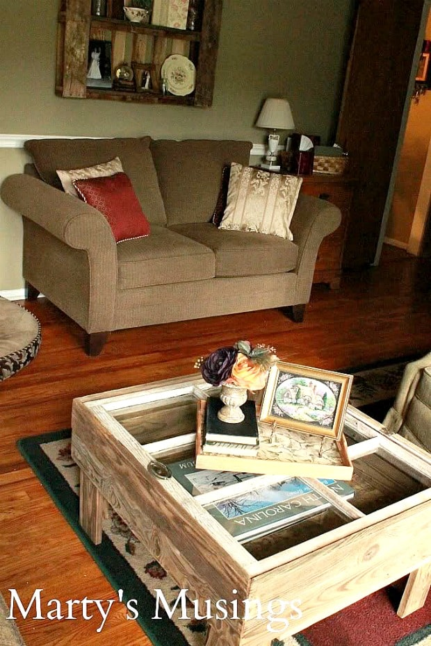 Living Room Makeover from Marty's Musings