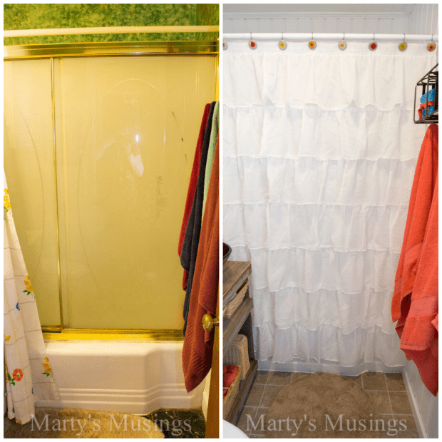 Small Bathroom Remodel Before and After - Marty's Musings