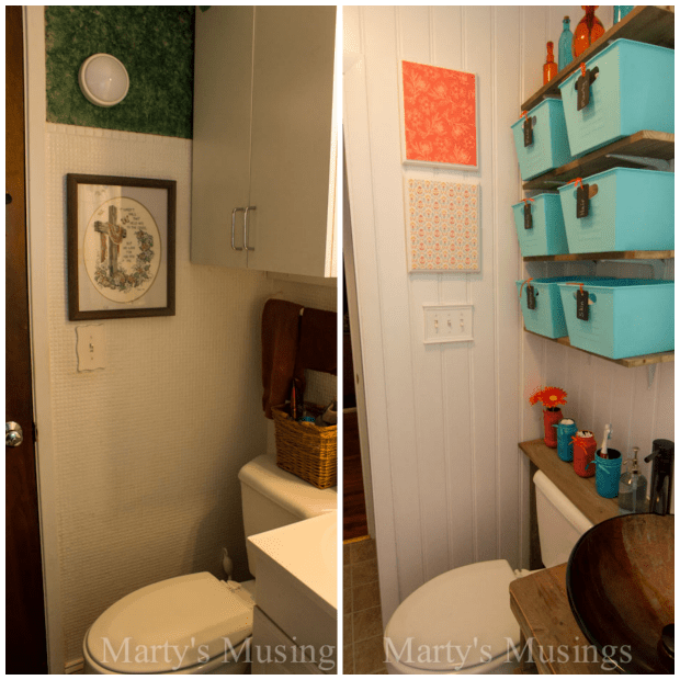 Small Bathroom Remodel - Marty's Musings