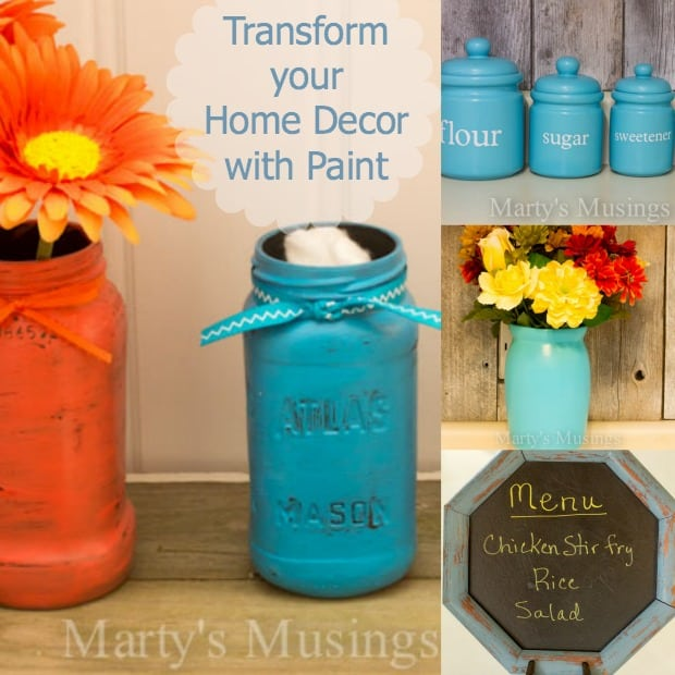 Transform Your Home Decor with Paint - Marty's Musings