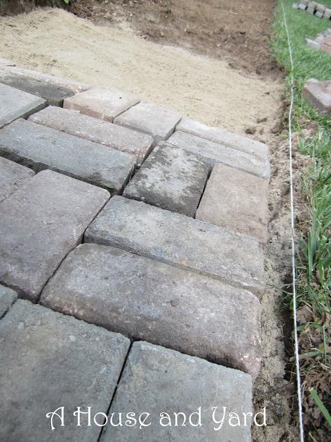 How to Make a Brick Walkway
