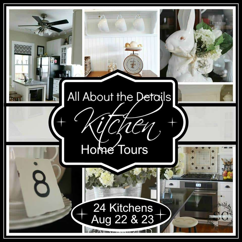 Kitchen Tour from Marty's Musings