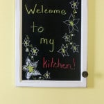 Chalk Kitchen Message Board from Marty's Musings