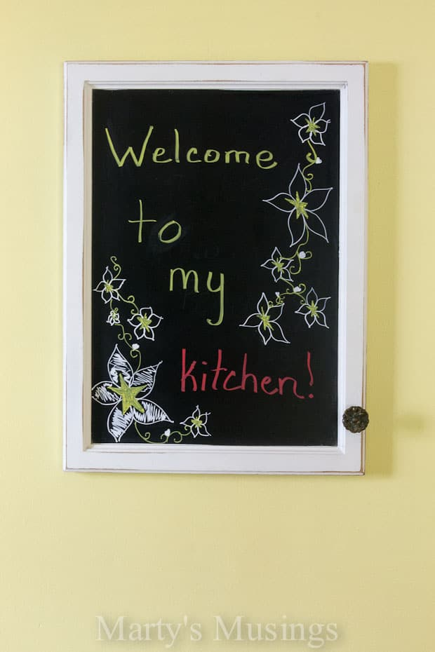 Chalkboard for Kitchen - Marty's Musings