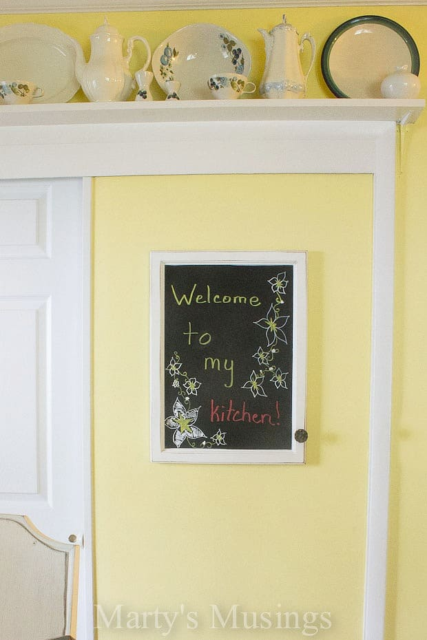 Chalkboard Message Center