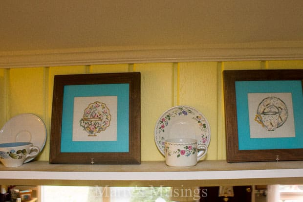 All About the Details Kitchen Tour Plate Rails