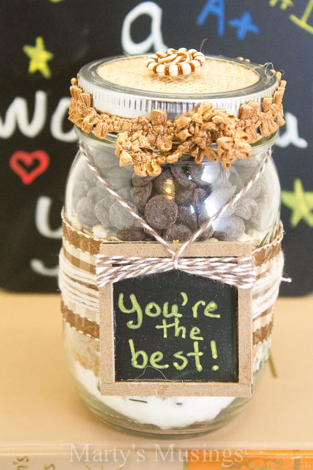 Gifts in a Pint Mason Jar - Marty's Musings