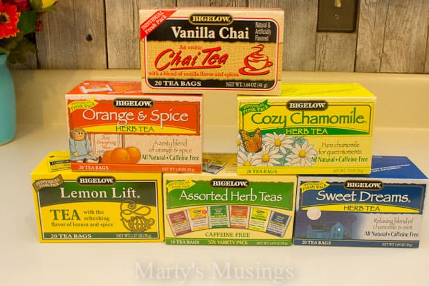 Bigelow Tea and Me- Why You Should Drink More Tea