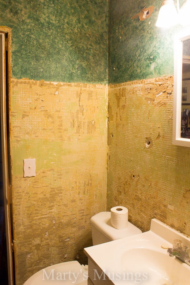 Remodel bathroom diy
