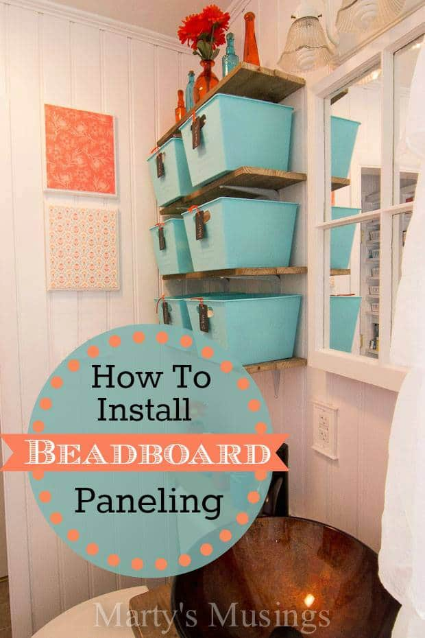 how to install beadboard paneling. Black Bedroom Furniture Sets. Home Design Ideas