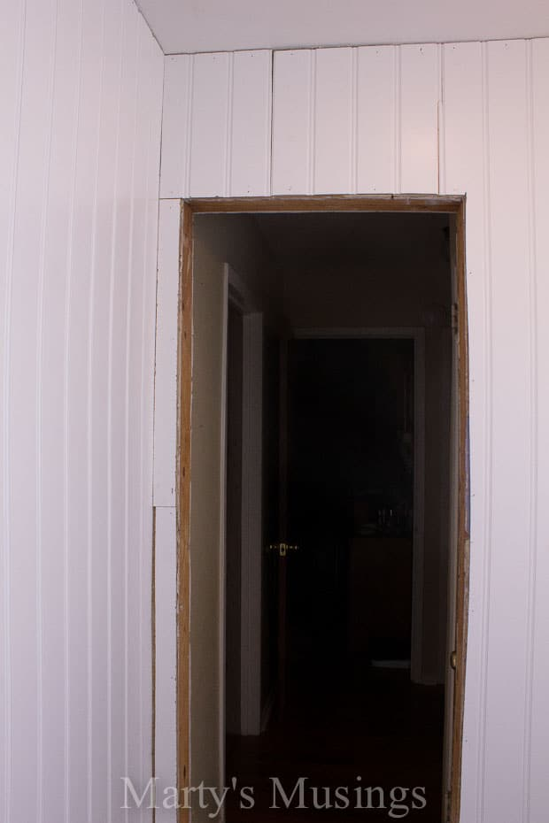 How to Install a Beadboard Wall-14