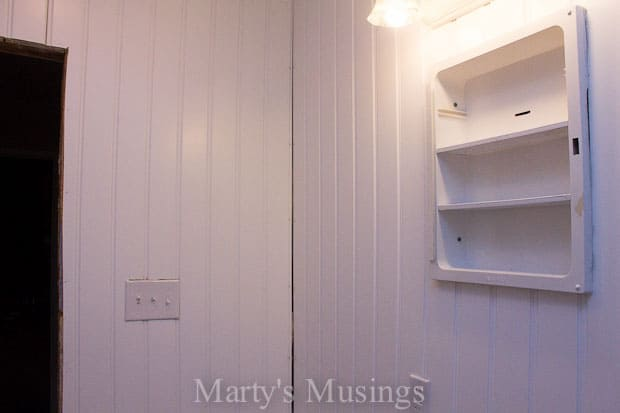 How to Install a Beadboard Wall from Marty's Musings-15