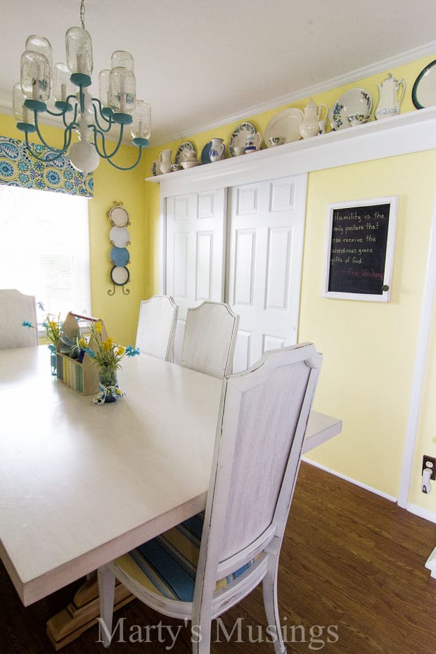 How to Make a Chalk Kitchen Message Board