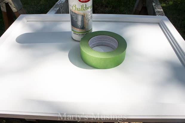 Make a Chalk Message Board-4