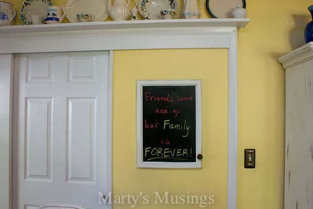 Make a Chalk Message Board-6