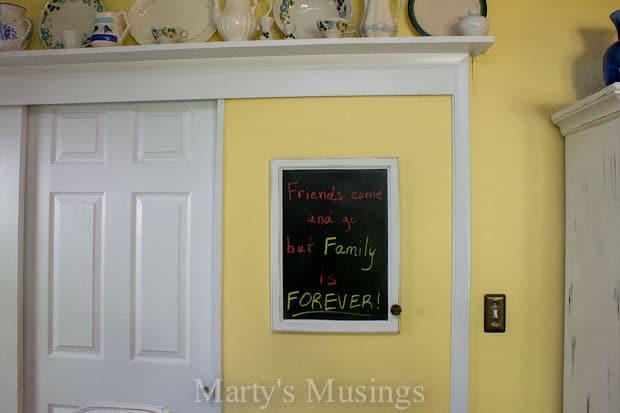 Make a Chalk Message Board-6