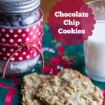 Pint Mason Jar Gift and Chocolate Chip Cookie Mix- Marty's Musings