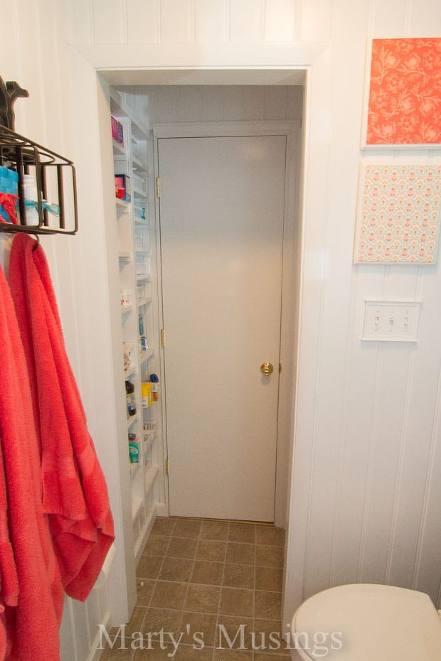 Storage Solution For A Small Bathroom New Door