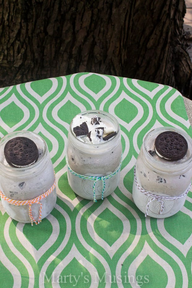 Homemade Oreo Ice Cream from Marty's Musings