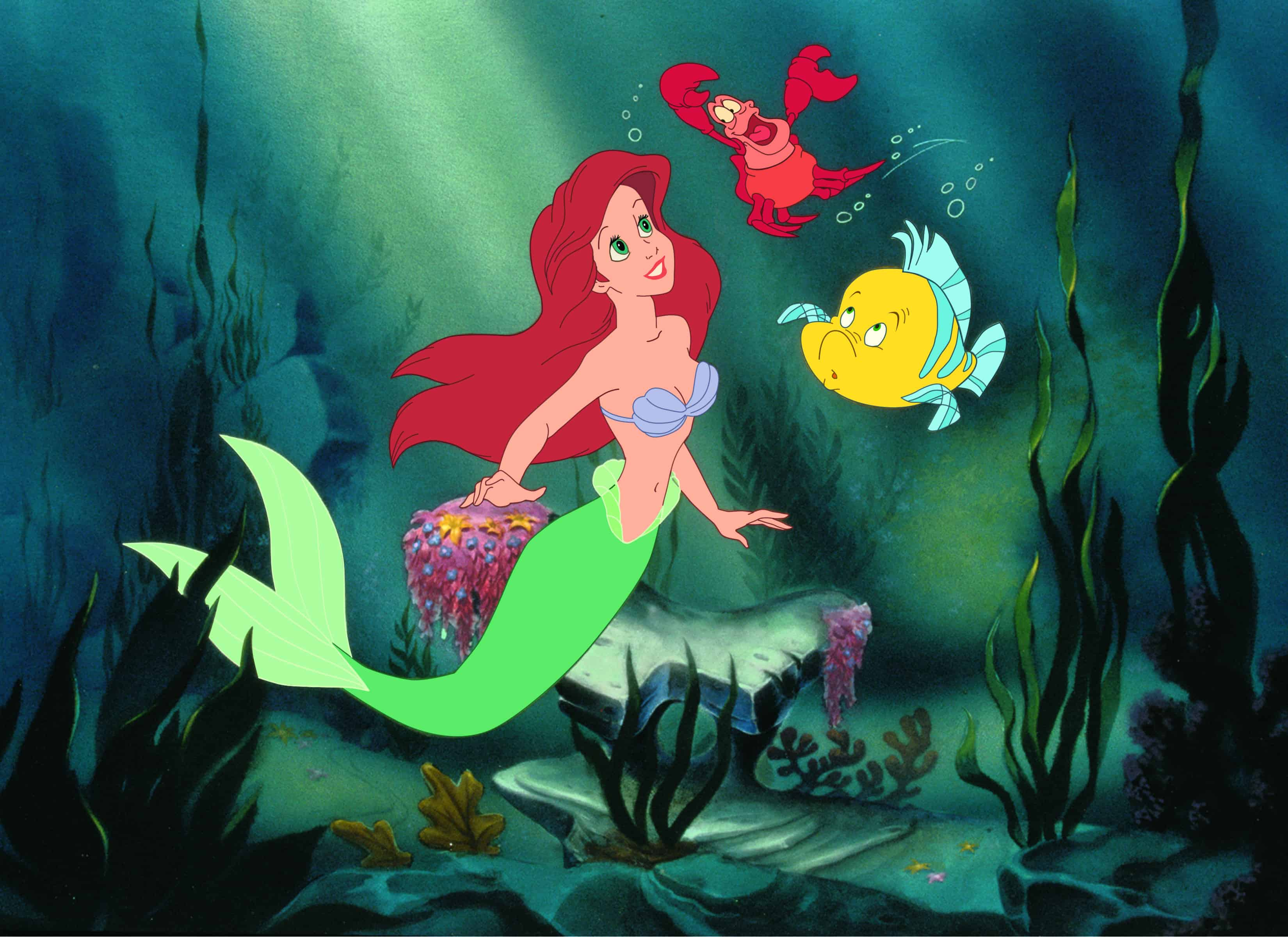 Little Mermaid Blu-Ray and DVD Giveaway