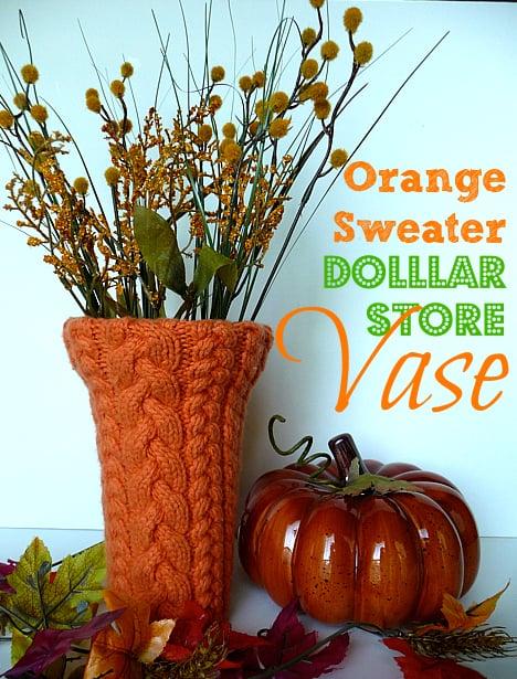 Orange-sweater-dollar-store-vase-5