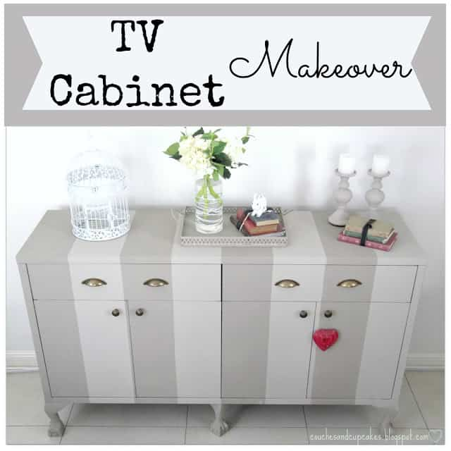 Tv Cabinet Makeover with ChalkPaint
