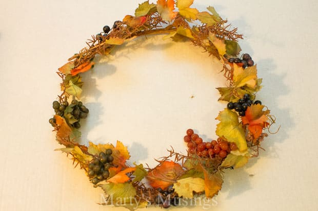 3 Easy DIY Fall Wreaths from Marty's Musings