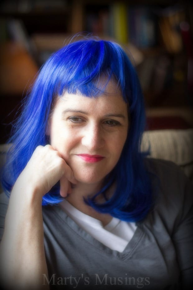 Clever Girls Collective Blue Wig Project