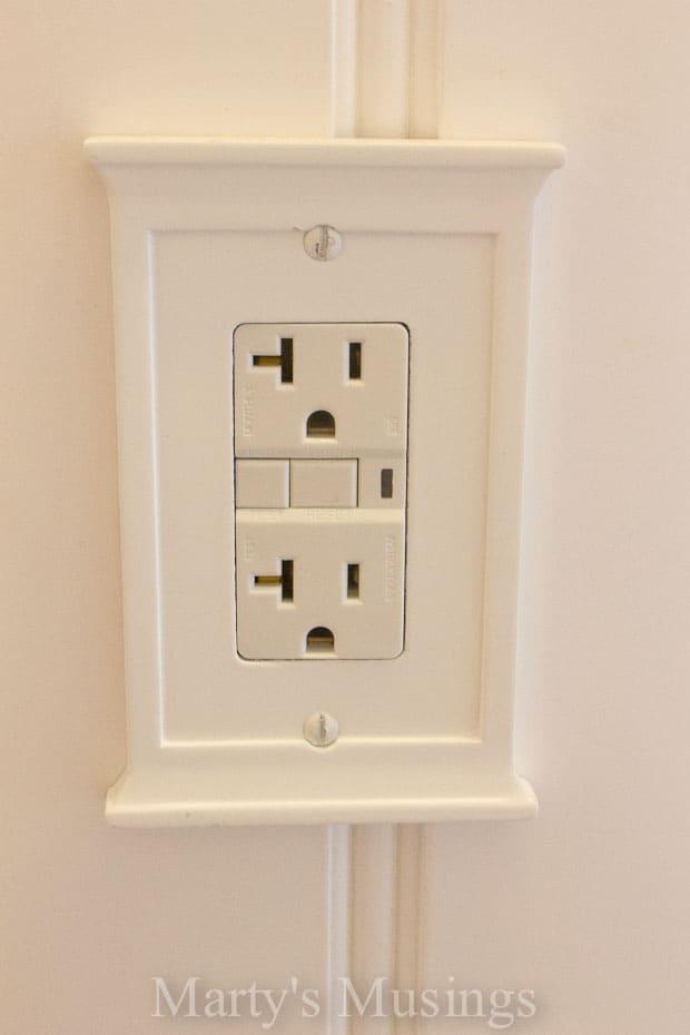 where to install bathroom fan below