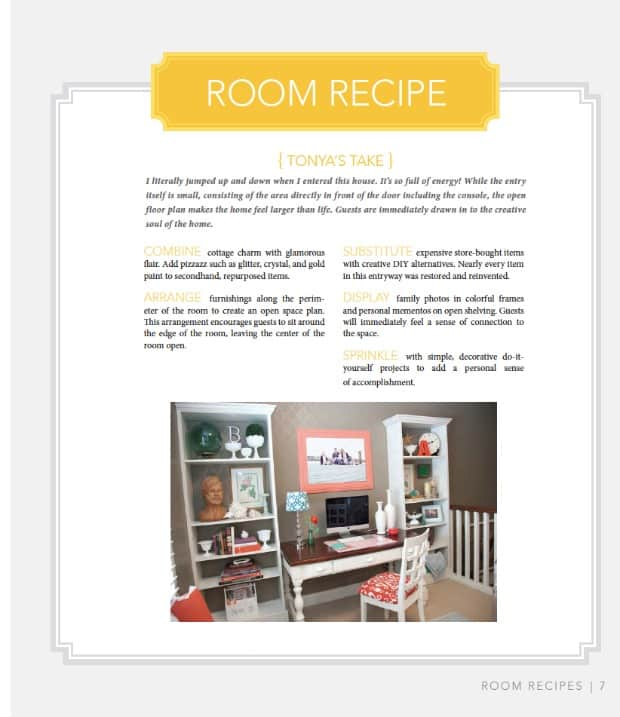Room Recipes by Tonya Olsen