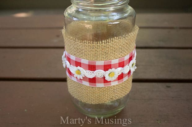 Thrifty Mason Jar Crafts and Google Hangout