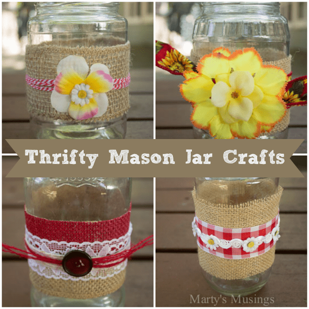 Thrifty Mason Jar Crafts