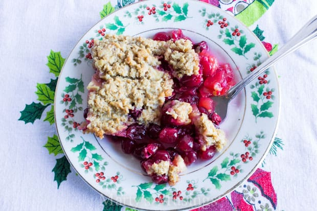 Cranberry Apple Casserole from Marty's Musings