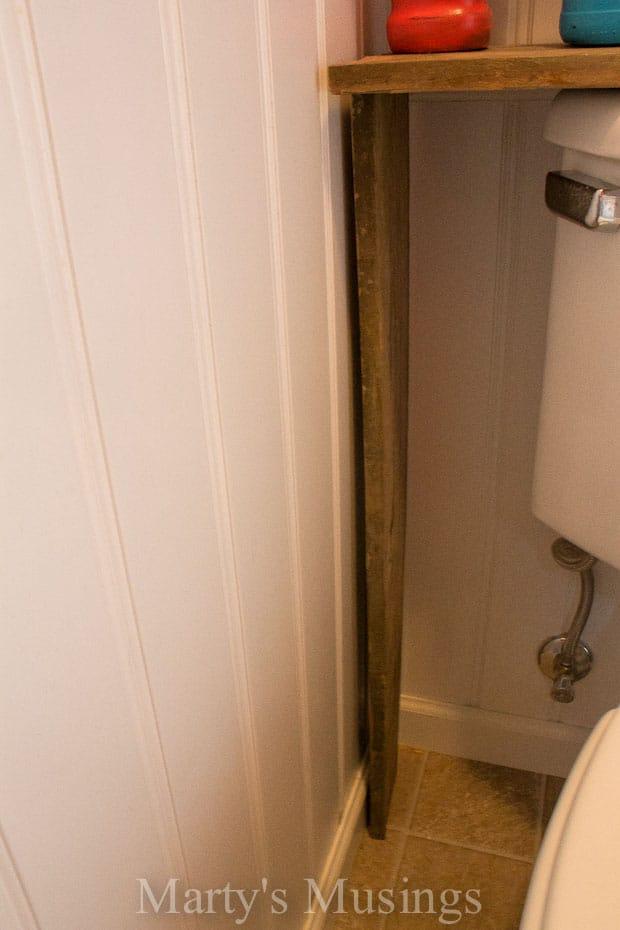 Fence Board Bathroom Cabinet