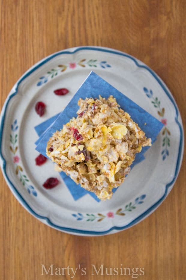 Homemade Cereal Bars from Marty's Musings