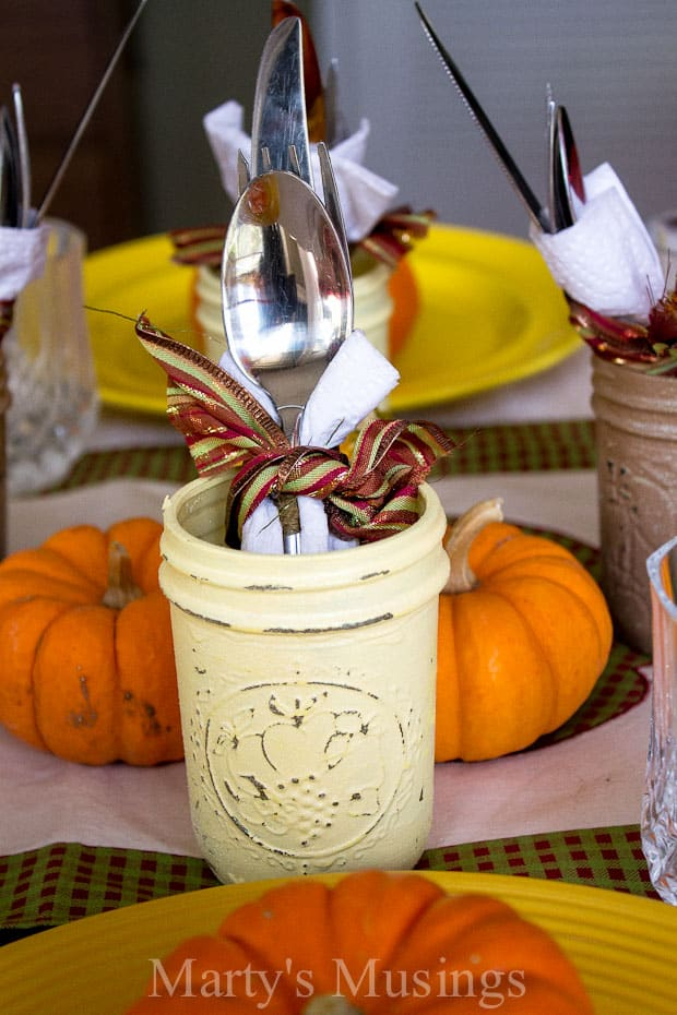 Thanksgiving Table Setting for Kids
