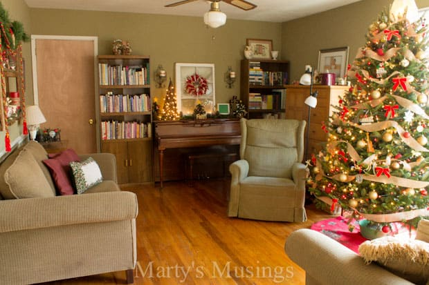 Christmas Home Tour with DIY and Thrifty Decor