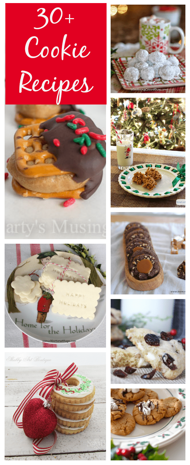 30+ Christmas Cookie Recipes