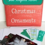 Mini Christmas Photo Album