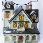 Christmas Village Display Ideas from Marty's Musings
