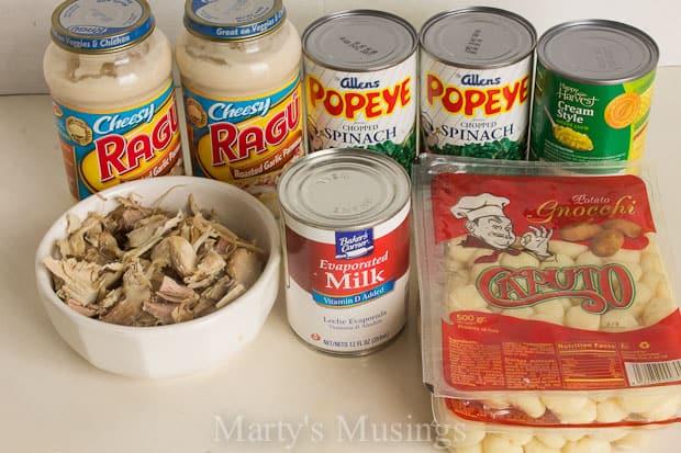 Slow Cooker Chicken Gnocchi Soup #KleenexTarget