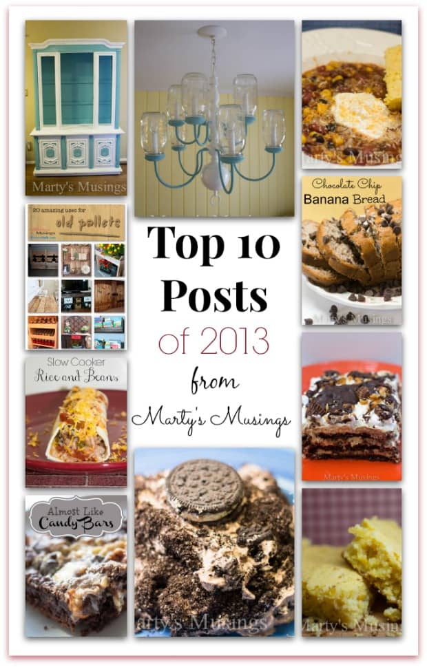 Top 10 Favorites of 2013 from Marty's Musings