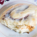 Bread Machine Cinnamon Rolls with Cream Cheese Icing
