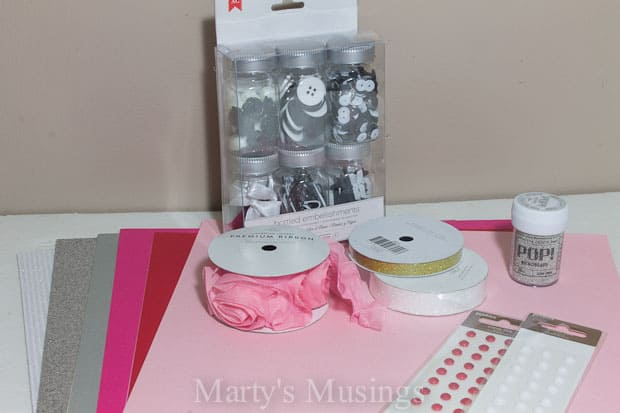 Easy Handmade Valentine Cards - Marty's Musings