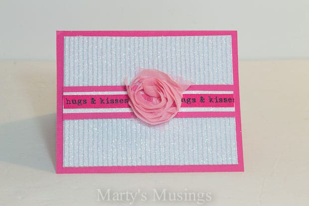 Easy Handmade Valentine Cards – Easy Valentine Card